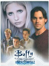Buffy TVS Men Of Sunnydale Promo Card P-SD