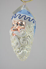 Patricia Breen Parker Santa Roman Numerals Christmas Ornament # 2088