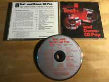 DHFI Test- Und Demo-CD Pop  [CD Album AUDIOPHIL] Dire Straits Knopfler Yello