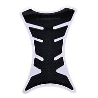 Carbon fibre Tank Pad Tankpad Protector Stickers moto Universal Fishb taUP