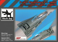 Blackdog Models 1/48 F-16C FALCON ELECTRONICS & CANNON Resin Detail Set