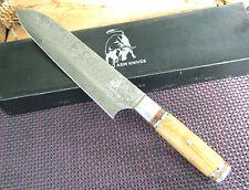 Damastmesser Küchenmesser Kuchenmesser Kochmesser Chef Messer Mega Messer Neu