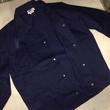 Mens Navy Work Wear Jacket /top - Size 42chest -