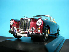 Bentley S 2  Continental Deep Maroon Met with Tan leather Road Signature 1:43rd