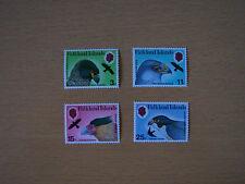 FALKLAND ISLANDS,1980,BIRDS OF PREY,4 VALS COMPLETE SET,U/M,EXCELLENT.