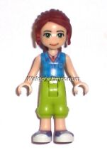 Lego Friends MiniFigure, MIA with Lime Pants and Blue Shirt 41335, New