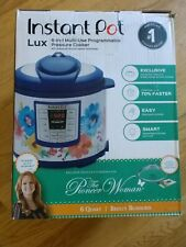 Instant Pot Pioneer Woman LUX60 Breezy Blossoms 6 Qt 6-in-1 Multi-Use Programmab
