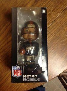 New York Giants RETRO Boy Face Bobble Bobblehead Nodder NFL Football