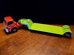 Vintage Matchbox Speed Kings K-17 Ford Tractor & Dyson Low Loader 1971 Lesney