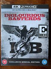 Inglourious Basterds 4K + UHD Blu-ray Rare Hmv Exlusive Cine Edition OOP BNIB