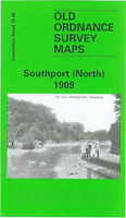 OLD ORDNANCE SURVEY MAP SOUTHPORT NORTH 1909 HESKETH PARK LYTHAM ROAD MARSHSIDE