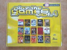 PLAY THE GAMES 4  Frontschweine Tomb Raider uvm.   PC WIN 95/98  dt.  USK 16 #
