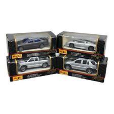 Lot of 4 Maisto Special Edition 1/64 Scale Diecast Cars NIB Silverado