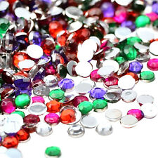 Women DIY Rhinestones Flat Back Resin Diamante Gems Crafts Nail Art 2000Pcs/Pack