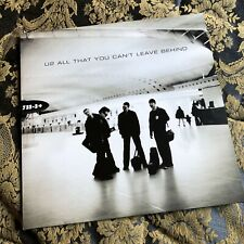 U2 ALL THAT YOU CAN'T LEAVE BEHIND LP vinyl Bono The Edge 2000 first pressing