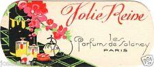 Carte Parfumée SALANCY Jolie Reine - scented cards - perfume cards