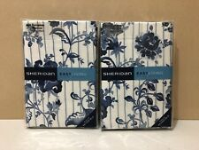 SHERIDAN EUROPEAN PILLOWCASES ~ BRAND NEW ~ 1 PAIR INDIRA CHAMBRAY 65 X 65 CM