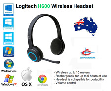 Logitech Wireless H600 Headset Noise-Cancelin​g Headphone Nano USB Receiver