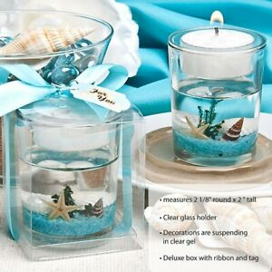 30 Stunning Beach Themed Candle Wedding Bridal Shower Party Favors