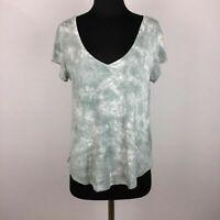 American Eagle Soft & Sexy Womens M Tie Dye Tee Top Short Sleeve Viscose Blend