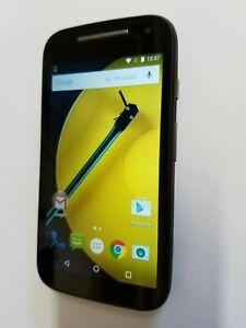 Motorola MOTO E 2nd Gen XT1527 8GB Black AT&T H20 Easygo Cricket GSM Smart Phone