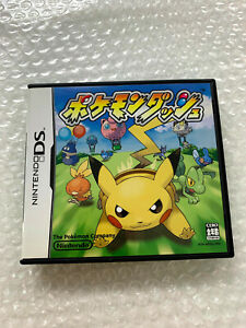 "Pokemon Dash ""Good Condition"" Nintendo DS Region Free Japan"