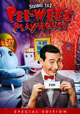 Pee-Wee's Playhouse: Seasons 1 & 2 (DVD, 2014, 4-Disc Set) Brand New!