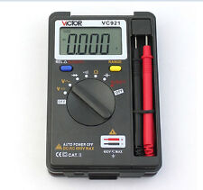 VICTOR VC921 3 3/4 DMM Multimeter Pocket Digital lcd Multimeter Frequency