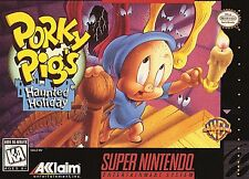 Porky Pig's Haunted Holiday (Super Nintendo Entertainment System 1995) SNES Game