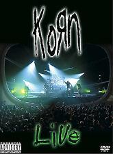 Korn - Live (DVD, 2002)
