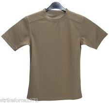 "Army Issue PCS Light Olive Coolmax T Shirt - Size 160/80  SMALL  (32"" Chest)"