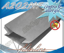A202MF 5 sacchetti filtro microfibra x Progress  Bidone Aspiratutto B 20SL