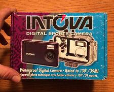 INTOVA IC-500 5.0 MP Digital Sports Waterproof Underwater 130'Ft Camera COMPLETE