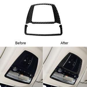For BMW 5 Series F10 F07 2010-2017 Carbon Fiber Reading Light Panel Cover Trim