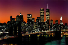 New York, New York - Brooklyn Bridge Poster Print, 36x24