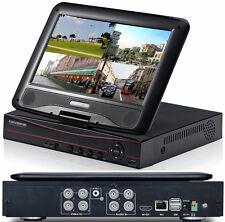 Videoregistratore digital DVR 4 CH canali.Sorveglianza videocamera NVR monitor