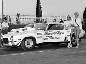 "Bill ""Grumpy"" Jenkins 1970 ""Grumpy's Toy"" Chevy Camaro Pro Stocker PHOTO! #(20)"