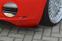 Heckansatz Spoilerecken Seitenteile ABS für VW Beetle Typ 16 5C Schwarz Glanz
