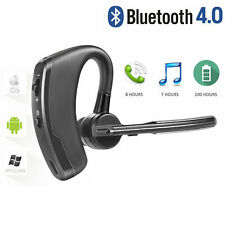 Bluetooth 4.1 Hands Free Car Headset Earbud Stereo Headphone Earphone Voice Call