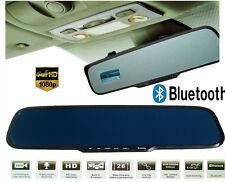 TOP Rückspiegel  HD1080P Auto-DVR-Kamera Autokamera KFZ Video Rekorder Bluetooth