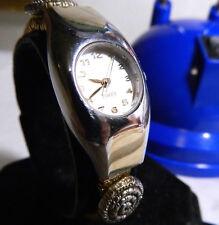 Women's Two Tone Timex Water Resistant Watch. Lower Price! 1 Year Warranty.
