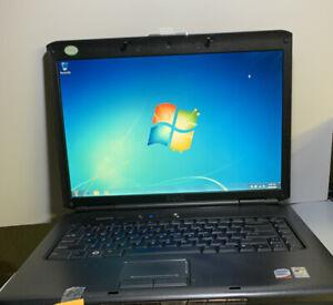 """Dell Vostro 1500 Laptop 15"""" Win 7 PRO 320GB Intel Core 2 Duo 1.4GHz 2GB BATT ++"""