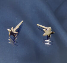 9ct Gold Star Andralok Stud Earrings .