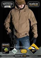 Softshell HELIKON-TEX GUNFIGHTER Giacca Jacket Caccia Softair Militare Outdoor
