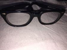 1950's American Optical Frames Hornrim Black