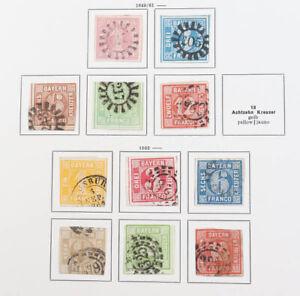 Altdeutschland tolle alte Sammlung Baden bis Württemberg, hoher Katalogwert