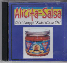 Alicita Salsa 1999 Promo Ad Commercial CD Radio Food Lion Fresh Fields In Store