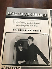 1982 Vintage 6 Pg Article+Photos Keys To The Future Depeche Mode Soft Cell Omd+
