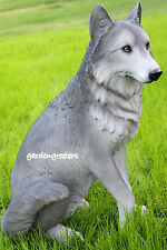 WOLF  STATUE LARGE WOLF