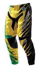 TroyLee Designs MX GP Shocker Hose Grün Gelb - MX Pants